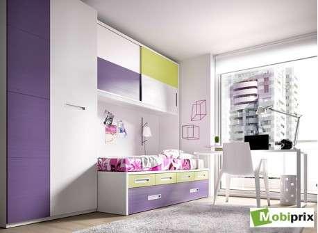 Habitaci n juvenil con puente mod sant cugat de mobiprix - Dormitorios con puente ...