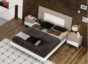 Dormitorio de matrimonio modelo Ripollet con cabecero alto