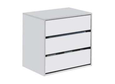 Calaixera blanca per interior d'armaris