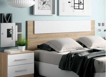 Capçal de fusta per a llit Malgrat - Britania