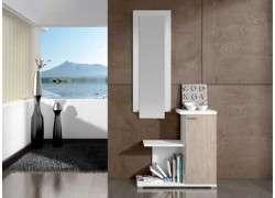 Moble de rebedor amb armari i mirall mod. Sant Fruitós