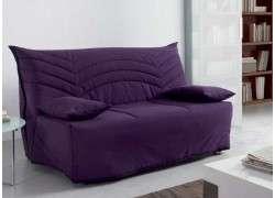 Sofá cama tipo clic clac Badalona - Lila