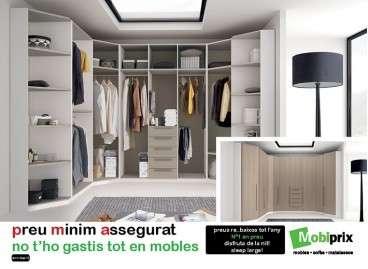 Armario vestidor adaptable