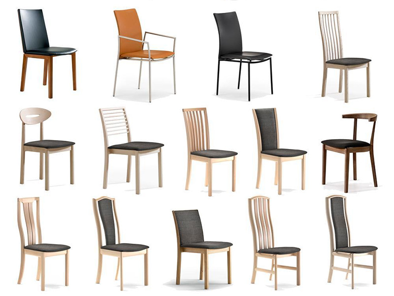 Muebles haz f cil lo dif cil elegir tu silla de comedor for Sillas cromadas para comedor
