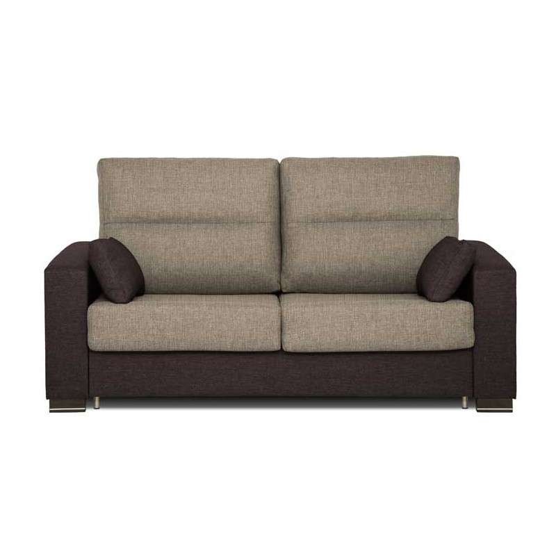 Sof chaise longue mod montcada con 4 pouffs for Sillon cama desplegable