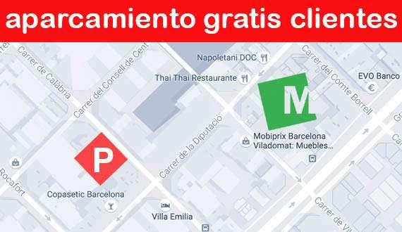 Tienda de muebles, sofás y colchones en Barcelona Viladomat - Mobiprix