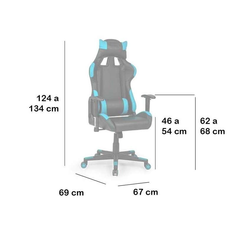Cadira gamer i oficina, d'altes prestacions, Chipre