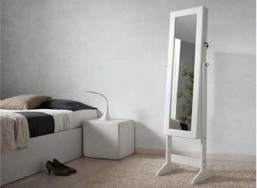 Espejo de pie con joyero Gracia