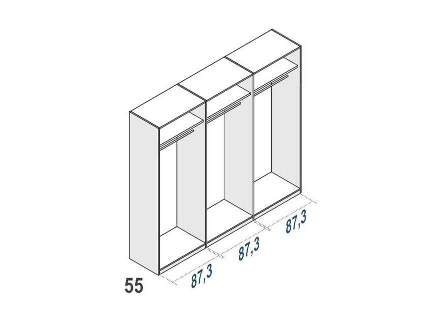 Armario de  6 puertas Cerdanyola