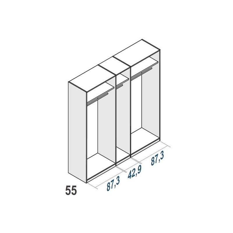 Armario amplio de 5 puertas Cerdanyola