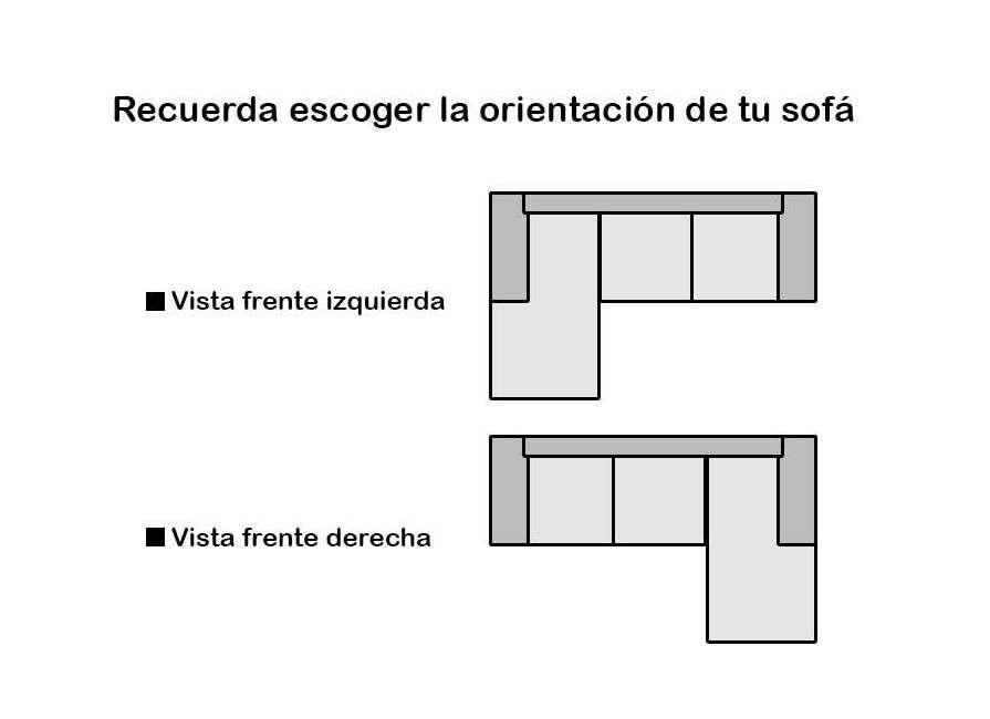 Sofà de disseny Milà, amb seient fixe o lliscant