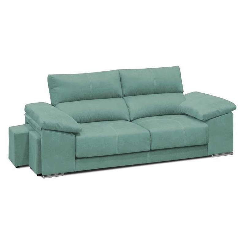 Sofá tres plazas, con dos asientos, Magic