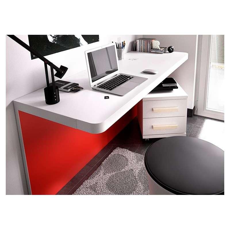 Taula escriptori model Barcelona amb dues posicions
