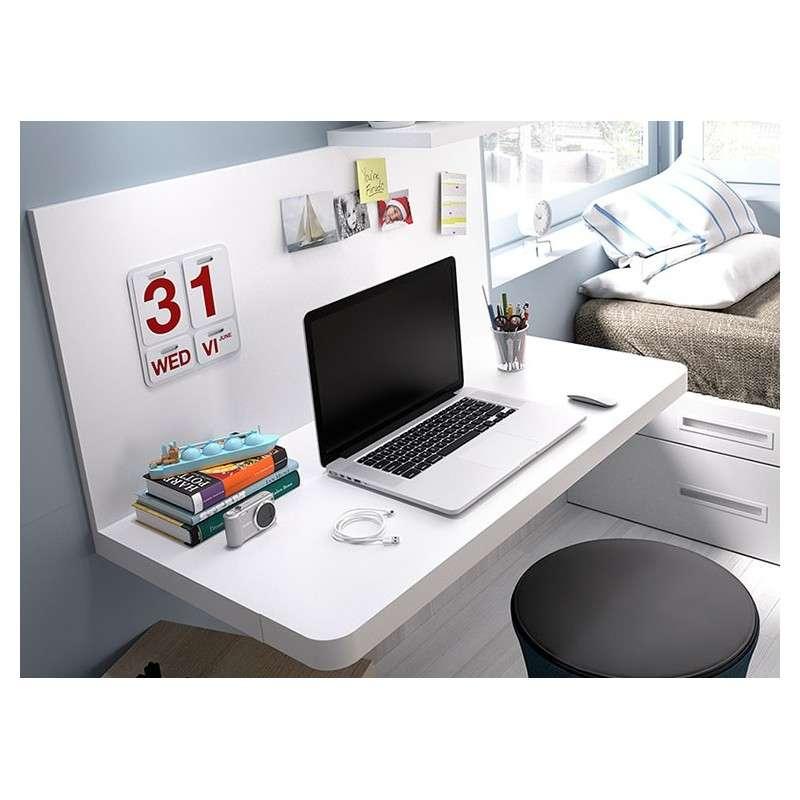 Mesa escritorio Barcelona con dos posiciones