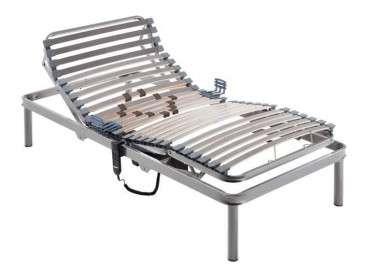 Somier articulado eléctrico con láminas de madera modelo Sabadell