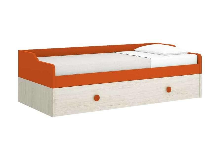 Cama nido con cama de arrastre