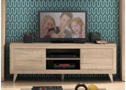 Mueble de TV ancho con patas - Cambrian
