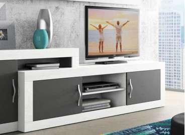 Moble de TV col.lecció Vilanova - Blanc Soul