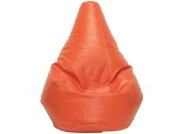 Puf pera Rubí en colores - Naranja