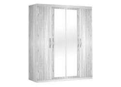 Armari de 4 portes amb miralls - Àrtic