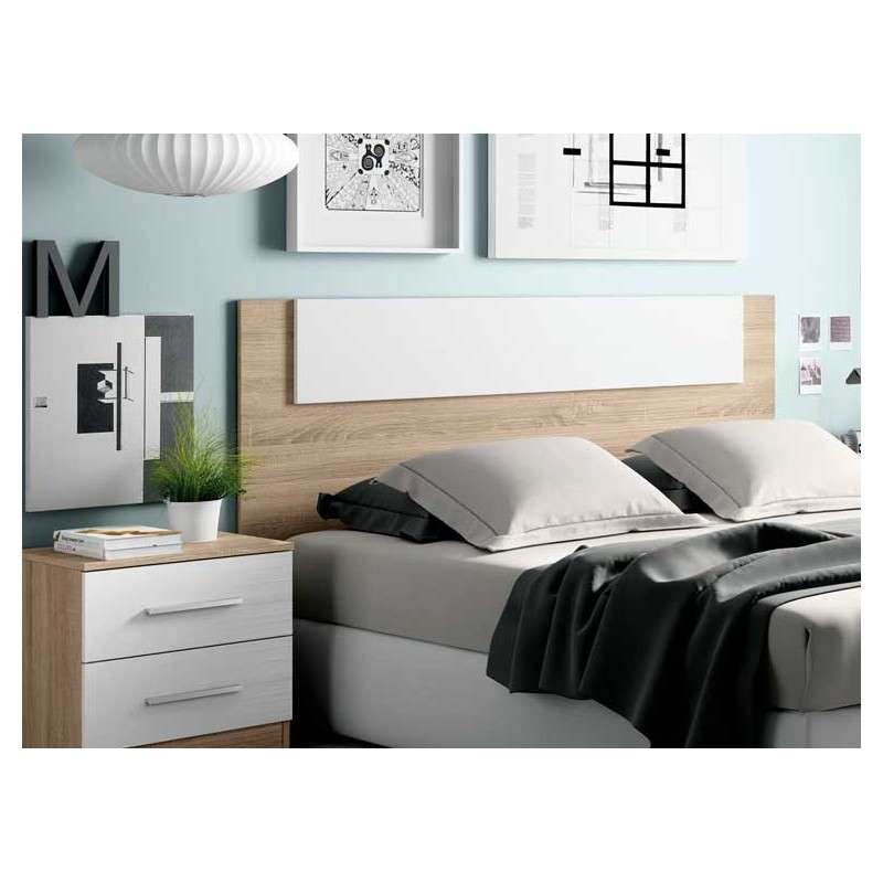 Capal de fusta per a llit Malgrat