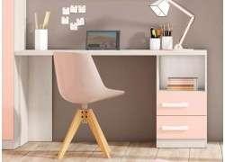Mesa escritorio modelo Manresa - Fucsia