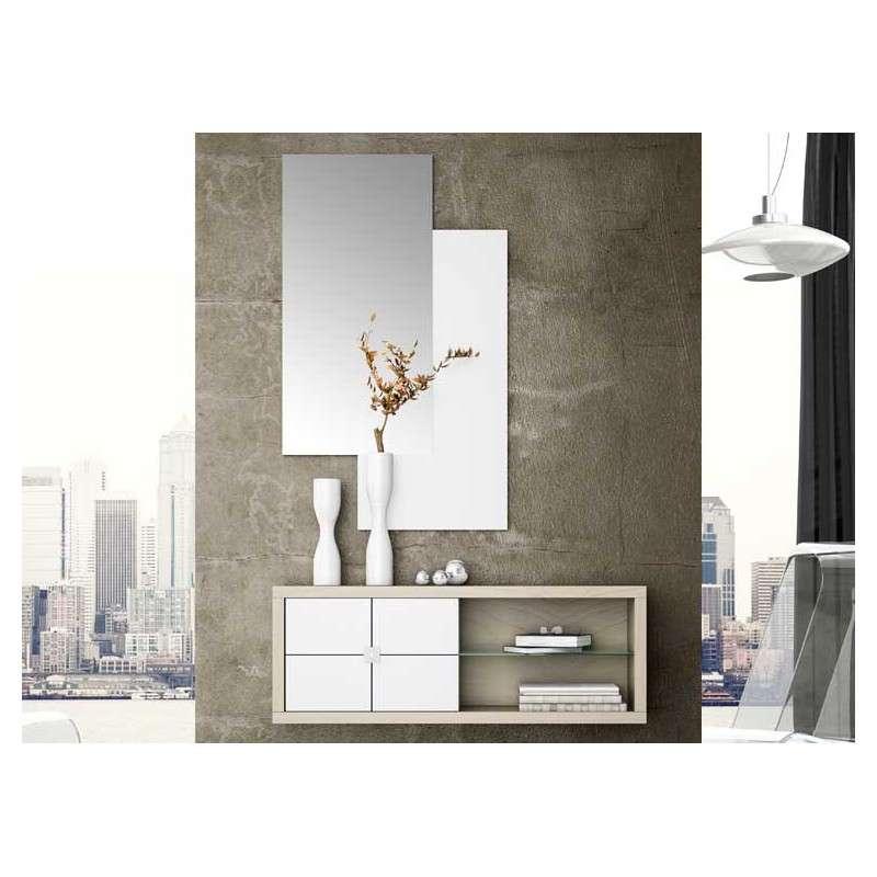 oferta mueble de recibidor con espejo badalona