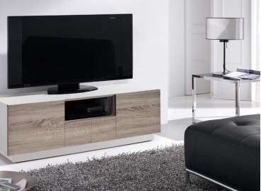 Moble TV Granollers en dos colors