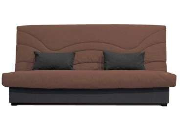 Sofá cama clic clac Terrassa en 5 colores - Chocolate