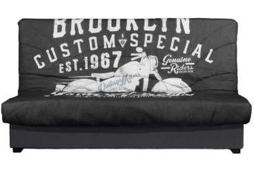 sofà llit clic clac Terrassa en 5 colors - Brooklyn
