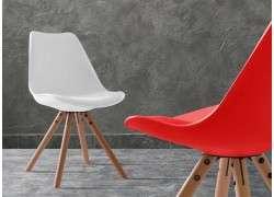 Silla de diseño Blanes 100% polivalente - Blanco