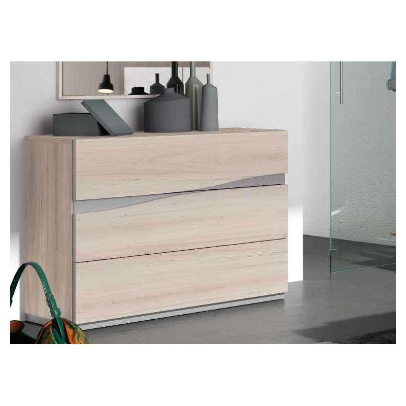 C moda de 3 4 cajones dormitorio mod caldes - Comodas dormitorio ikea ...