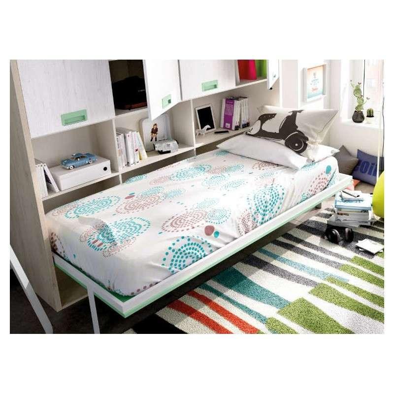 Oferta cama abatible con armario con dos alturas disponibles - Armario con cama abatible ...