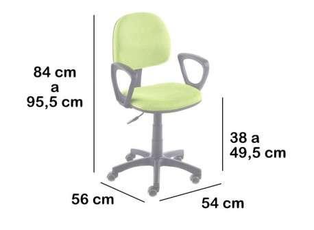 Cadira oficina elevable Sant Andreu