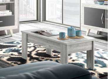 Mesas de centro elevables colección Vilanova - Ártico