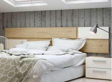 Cabecero de cama colgado Berna - Bambú