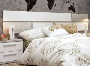 Cabecero de cama colgado Berna - Coral
