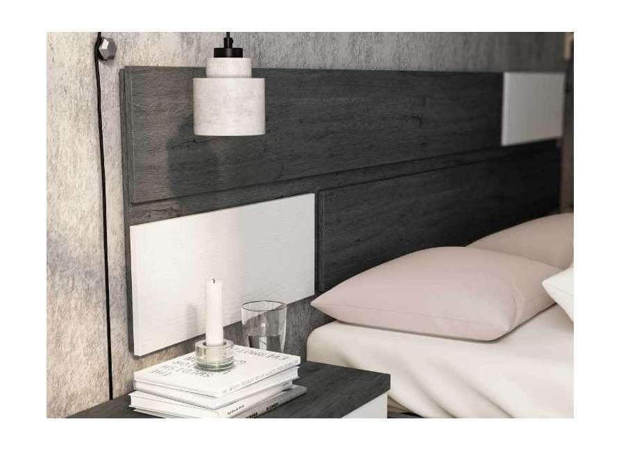 Cabecero de cama colgado Berna