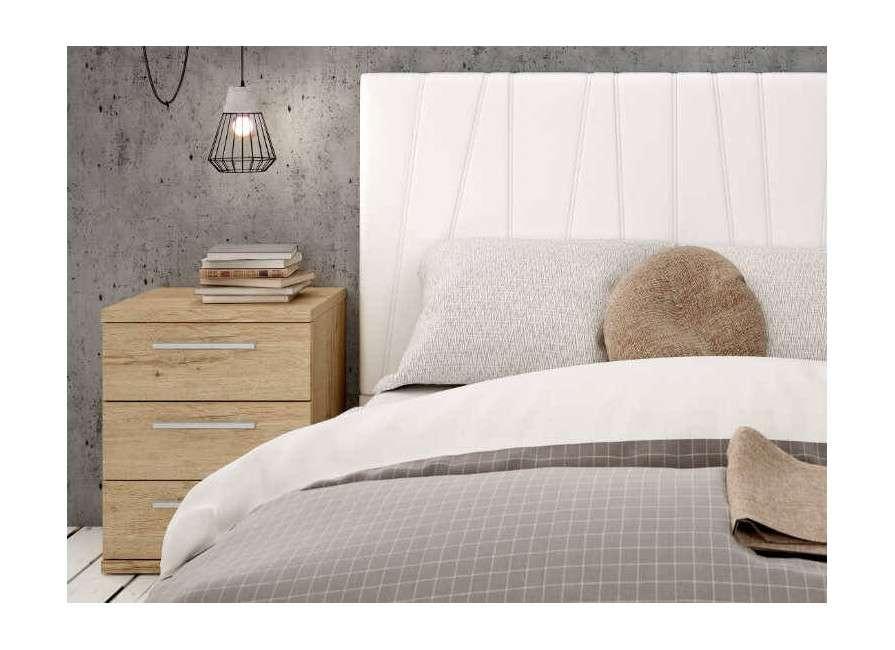 Capçal per llit alto entapissat Essen