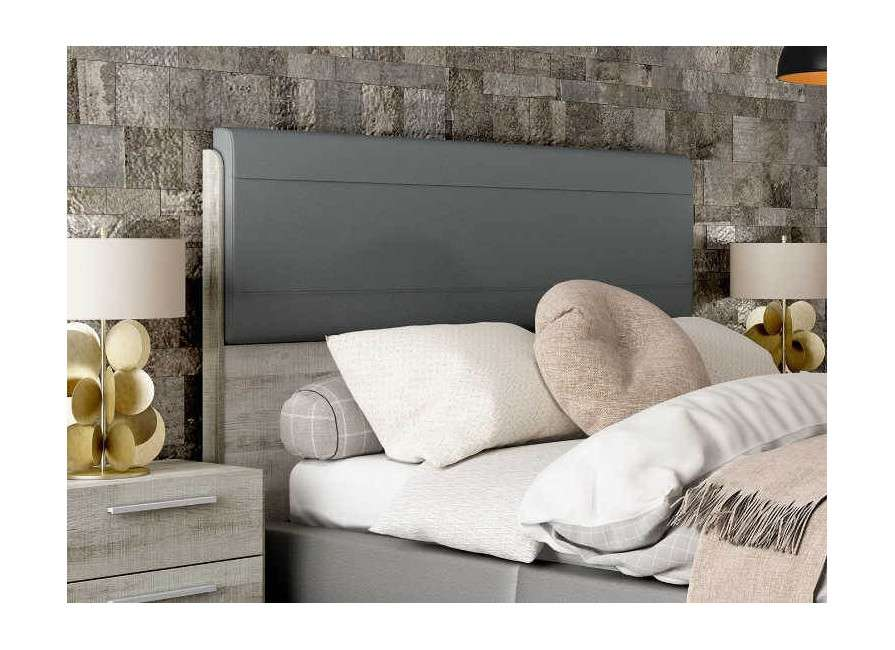 Capçal de llit alt amb entapissat Lyon