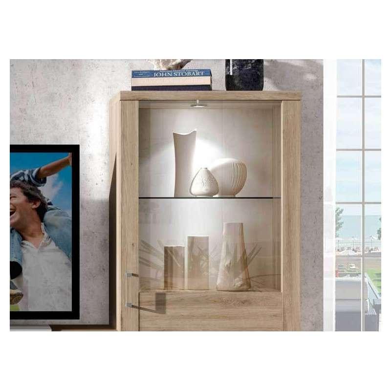 Mueble de comedor en oferta con dos vitrinas