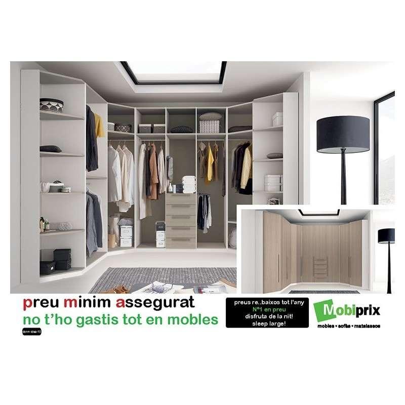 Armario vestidor adaptable barato