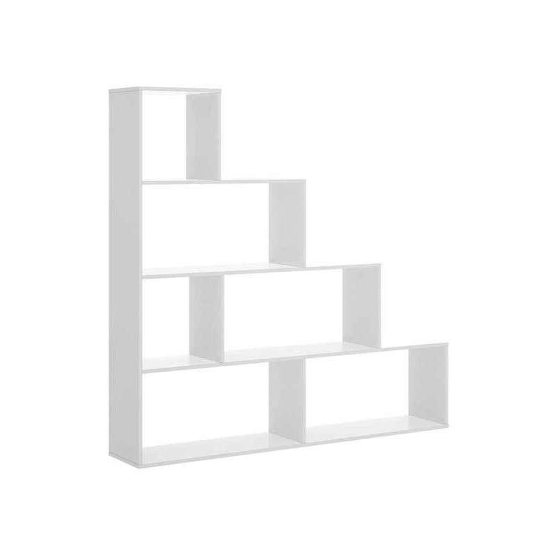 Estantería tipo escalera de 145 cm