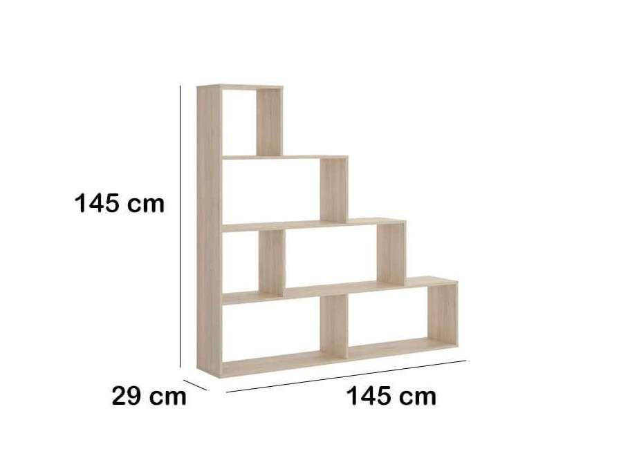Prestatgeria de tipus escala de 145 cm