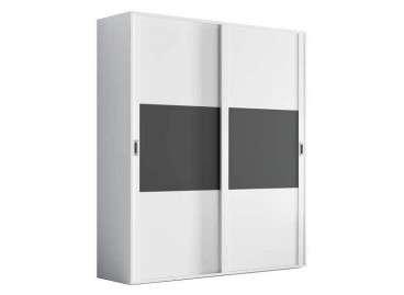 Armario de puertas correderas Llobregat - Blanco roto