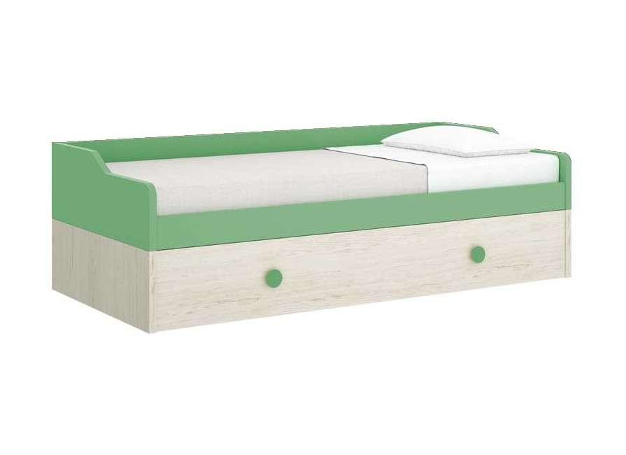 Llit niu amb llit d'arrossegament