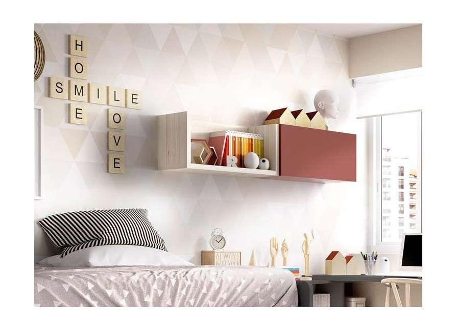 Dormitori juvenil amb llit compacte
