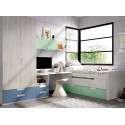 Habitación juvenil con puente mod. Sant Cugat