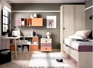 Composición juvenil amb llit compacte i llit desplaçable