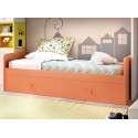 Conjunt juvenil amb llit niu i armari pont